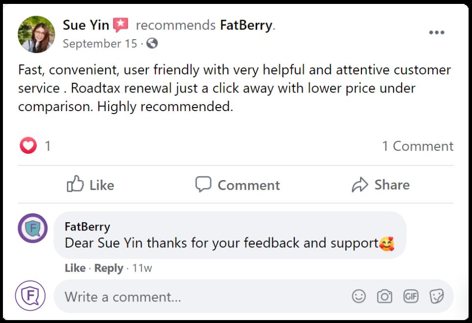 customer feedback 2 fatberry